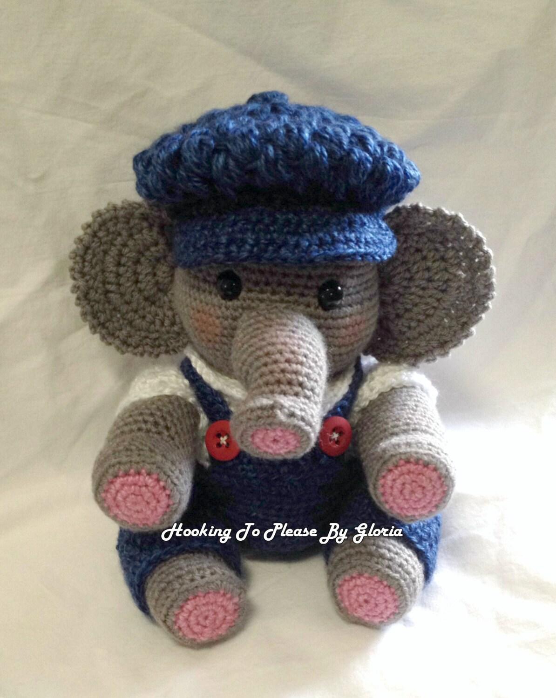 Baby Boy Elephant Doll Pattern by GloriaSustaita on Etsy