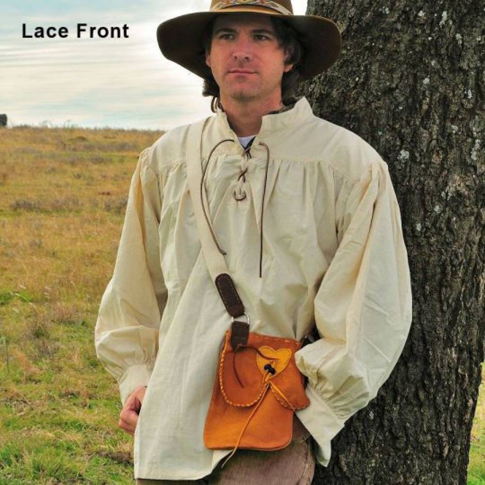 18th Century Work Shirt Men S Cotton By Rainbownativetraders