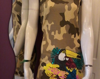 Short dress camouflage