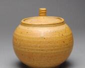 Clay Sugar Bowl Jam Jar  Condiment  Compote Jar E64