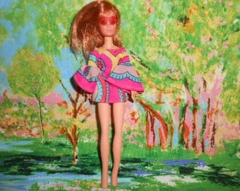 Mattel 1970 Rock Flower Doll