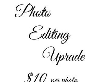 Photo Editing Upgrade