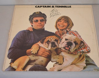 Vintage Record Captain & Tennille: Love Will Keep Us Together Album SP-4552
