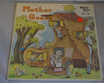 Vintage Children's Record: Mother Goose Album MH-18