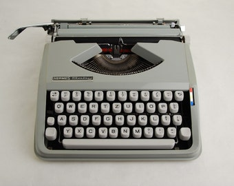 Typewriter, Hermes Baby w/ Techno Font