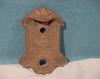 Antique Radio Face Plate for ON/OFF Switch and Volume Control Radio Corp. of America RCA