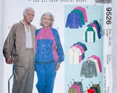 McCall's Women and Men Pattern 9526-Size Large 38-40