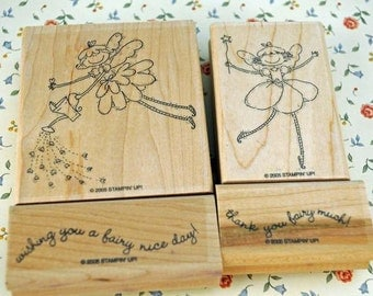 Mint, Retired Stampin Up Stamp Set Farily Nice