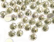 Clear Rhinestone flat back crystal 6mm HIGH QUALITY