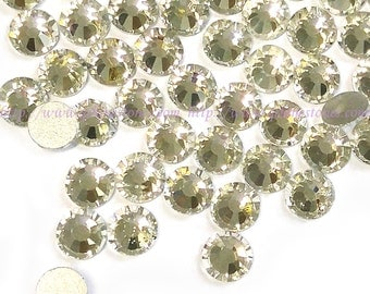 Crystal Clear Rhinestone flat back crystal 7mm (ss34) HIGH QUALITY 144pcs