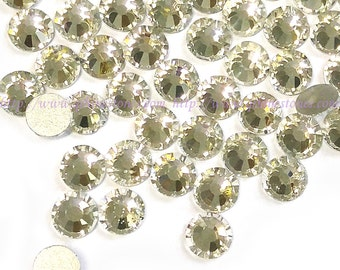 10mm Rhinestone Crystal Clear Glass flatback (ss50) HIGH QUALITY 144pcs