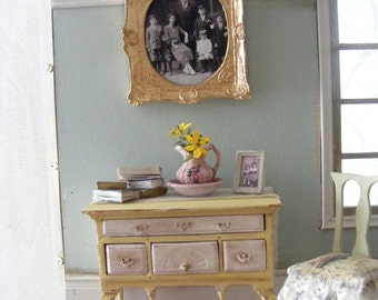 French style shabby chic sideboard-REDUCED