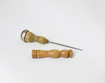 Rustic Ice Pick Handmade Mid Century Barware 1950s DIY