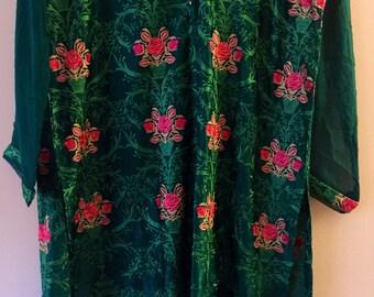 Agha noor silk kurti, women's clothing