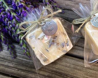 Unique Bridal Shower Favors, Soap Wedding Favors, Bachelorette Party Favors, Lavender Milk Soap Favors 24