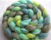 Merino Bamboo Roving (Combed Top) 4 oz. Hand Painted