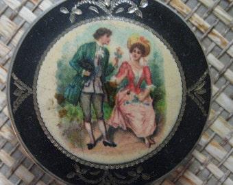Vintage BB Co., Enamel Compact