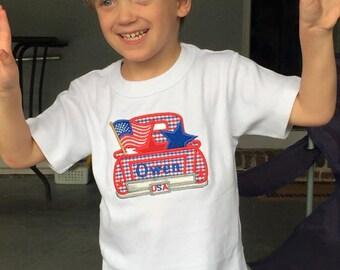 Boy's Fourth of July Shirt