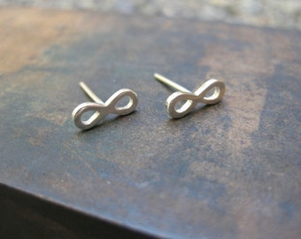Infinity Stud/Post Earrings