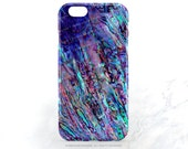 iPhone 6S Case Abalone Shell Print iPhone 6S Plus Case Paua Shell iPhone 5s Case Purple Abalone 6 iPhone Case Abalone 6 Plus iPhone Case T86