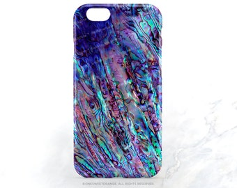 iPhone 7 Case Abalone Shell Print iPhone 7 Plus iPhone 6s Case iPhone SE Case iPhone 6 Case iPhone 5S Case Galaxy S7 Case Galaxy S6 Case T86