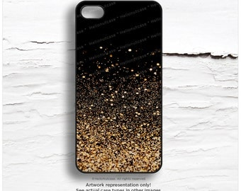 iPhone SE Case Metallic GOLD iPhone 6 Case Glow Texture Print, iPhone 5s Case Gold iPhone 5C Case Glow Print iPhone Case, iPhone 6 Case N14