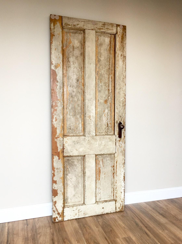 Decorating With Antique Doors : Antique door rustic wooden vintage