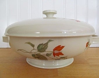 Rare Rosenthal  Winifred Selb-Germany US Zone Covered Casserole Vegetable Dish