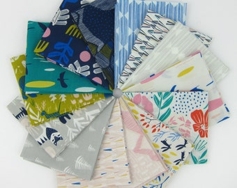 Lore Fat Quarter Bundle - Organic Cotton - Leah Duncan for Cloud 9