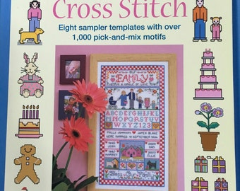 "Book ""Quick & Clever Cross Stitch"" with over 1000 cross stitch motifs for all seasons and occasions"