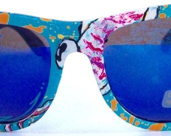 Squid Custom Painted Sunglasses