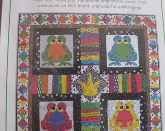 My Kingdom for a Toad Quilt/Wall Hanging Pattern