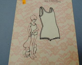 1971 Dolores of St. Paul Girls Swim Suit Pattern, size 12, uncut