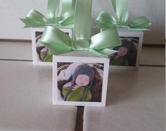 """Personalized 2"""" Photo Block Ornament"""