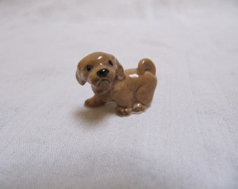 Vintage Hagen Renaker Lhasa Apso Puppy Miniature