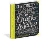 DIY Craft, Chalk Art, Hand Lettering, The Complete Book of Chalk Lettering By Valerie McKeehan - Signed Copy