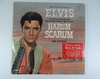 """1965 RCA Victor Elvis Presley LP Album LPM 3468 """"Harum Scarum"""""""