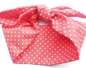 Polka Dot Rockabilly 50's Headscarf