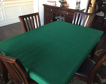 Suede Alur Poker Table Cover   Slick Playing Surface