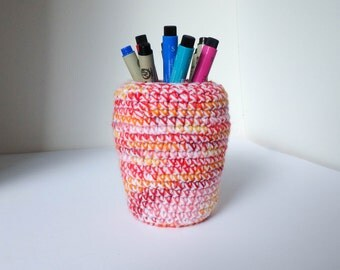 Upcycled Pen holder / Desk Organizer