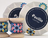 "Japanese Designer Washi Tape ""Pavilio Lace Tape"" 2 Yard Spool Pink or Yellow."