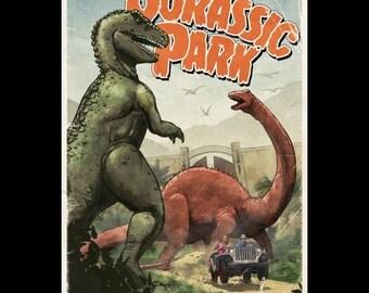 Jurassic Park (two sizes)