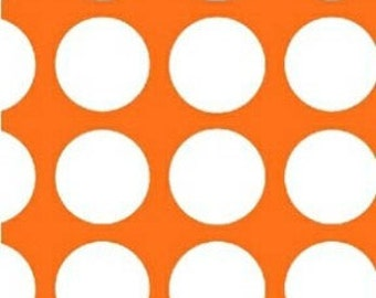 SALE! 1/4m Multidot by French Bull - Medium Dot Orange