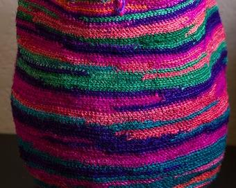 Spectacular Colors Sisal Agave Fiber Market Bag Tote