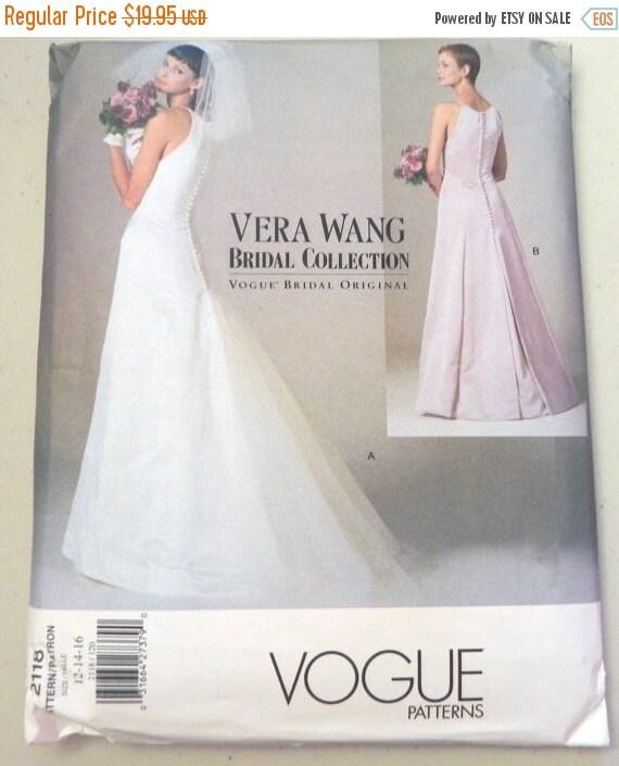 SALE Vera Wang Wedding Dress Bridal Gown By Retroactivefuture