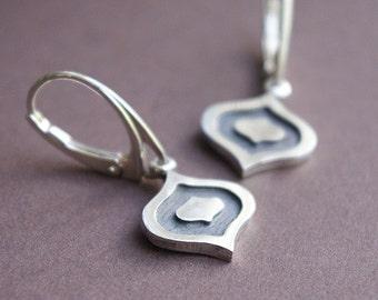 Handmade silver earrings, Silver earrings