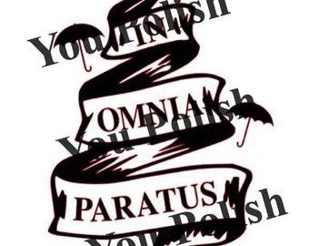In Omnia Paratus Decal