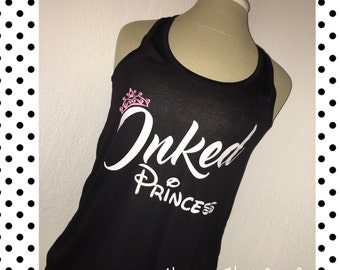 Disney Inked Princess tank