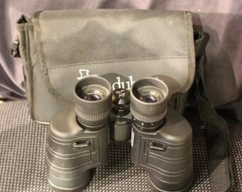 Audubon 7900 Intrepid 10x40 Binoculars w/ Carrying Case and Strap