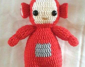 Teletubby Po Crochet Amigurumi Pattern